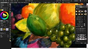 bowl of fruits painting a bowl of fruits with project dogwaffle u0027s pd artist 10
