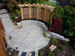 paving designs for backyard inspiring nifty paving backyard ideas