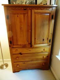 Armoire Furniture Plans Rachel U0027s Nest Pine Dresser U0026 Armoire Makeover