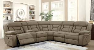 Motion Sectional Sofa Camargue Power Motion Sectional Sofa 600380 In By Coaster