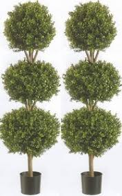Lollipop Topiary Tree - outdoor artificial topiary trees potted