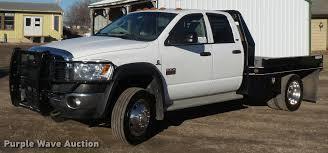 Dodge Ram 4500 - 2008 dodge ram 4500 laramie quad cab flatbed truck item db