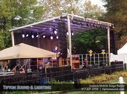 tent rental indianapolis tipton sound lighting indianapolis portable stage rental