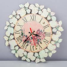 home decor wall clocks shabby chic wall clock products on wanelo