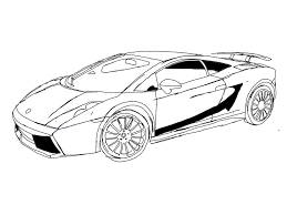 lamborghini drawing lamborghini gallardo coloring pages coloringstar