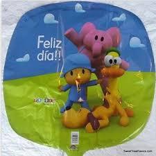 pocoyo party supplies pocoyo party supplies balloons pocoyó birthday mylar decoration