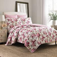 lidia floral quilt set jcpenney