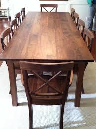 solid walnut dining table stunning walnut dining table solid walnut mission table boulder