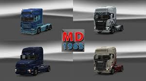 sunshield scania color truck 1 13 xx euro truck simulator 2 mods