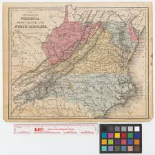 Map Of Virginia And West Virginia by Maryland Virginia West Virginia And North Carolina The Portal