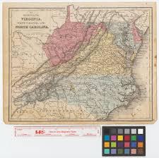 Map Of North Carolina And Virginia by Maryland Virginia West Virginia And North Carolina The Portal