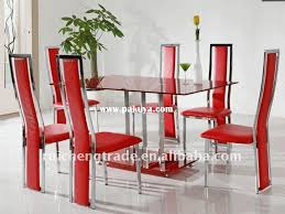 Modren Glass Dining Room Table With Extension Tables Extensions - Modern glass dining room furniture