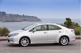 2010 lexus hs 250h 2010 lexus hs 250h sedans recalled for potential hybrid system failure
