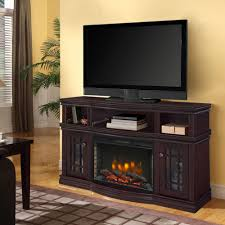 muskoka sutton 56 in media electric fireplace in espresso 370 154