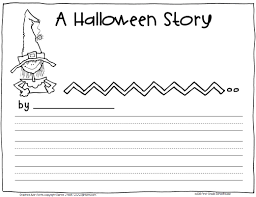 halloween writing activity 1st grade u2013 festival collections