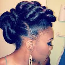 twisted bun hairstyle on african american 13 hottest black updo hairstyles updo stylists and natural