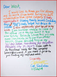 best resignation letter ever images letter format examples