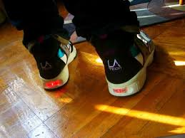 la light up shoes l a tech light up sneakers nostalgia
