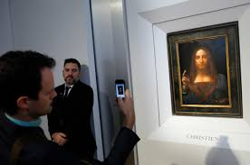 leonardo painting up for auction with 100 million estimate