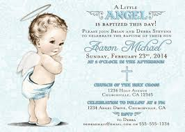 Example Of Baptismal Invitation Card Baptism Invitation For Boy Christening Invitation For Boy