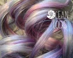 silver hair extensions grey hair extensions etsy
