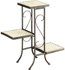 plant stands and plant display racks organize it