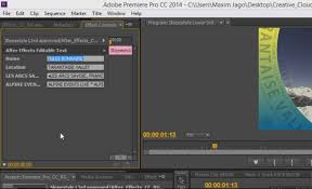 tutorial adobe premiere pro cc 2014 first look what s new in premiere pro after effects and