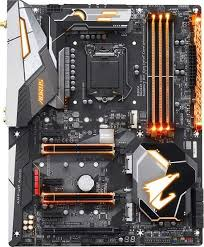 dell motherboard orange light gigabyte aorus intel z370 gaming 5 motherboard with rgb fusion