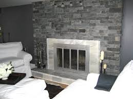 indoor stone fire places decoration feat khaki velvet chaise