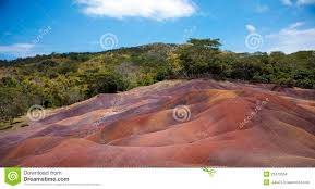 colored sand multi colored sand of chamarel stock photo image 22470558
