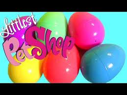 littlest pet shop easter eggs learn colors with littlest pet shop easter eggs lps 6pack