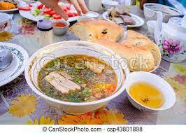 cuisine ouzbek cuisine ouzbek savoureux fait maison soupe shurpa
