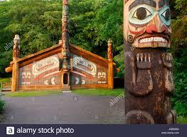 clan house totem bight state historical park ketchikan alaska