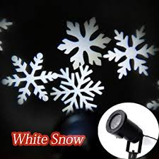 sweon moving snowflakes l laser light spotlight