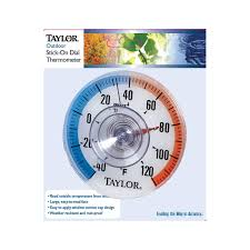 Patio Thermometer by Taylor Window Thermometer 5321n Home Thermometers Ace Hardware