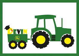 cartoon john deere tractor free download clipart cliparts and