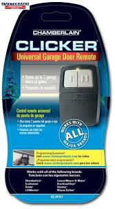 Overhead Door Keyless Entry How To Program Universal Garage Door Opener Remote Home
