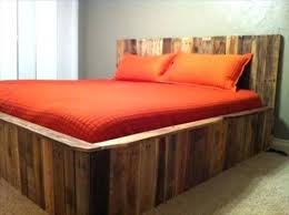 Bed Frame Made From Pallets Bed Frames Pallet Addicted Bed Frames Made Of Recycled