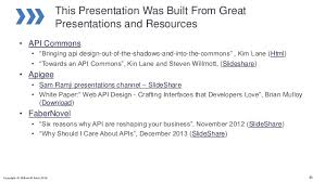 slideshare api introduction to api