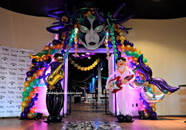 cheap mardi gras decorations event decor banquet jacksonville fl balloon