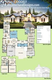 architecturaldesigns com 100 tuscan house unique house plans genuine home design