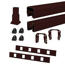 lowes banisters and railings shop trex deck railing kit at lowes com