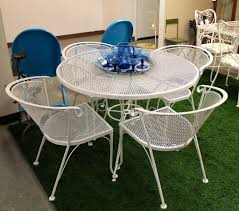 Wire Patio Chairs Found In Ithaca Vintage Wire Patio Set Sold