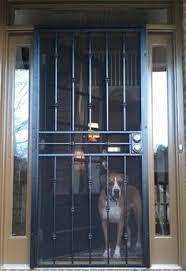 Unique Home Designs  In X  In Lexington White Surface Mount - Unique home designs security door