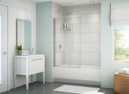 shower ymfycw stunning frameless tub shower doors tropical glass