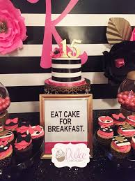 kate spade inspired birthday party ideas birthday party desserts