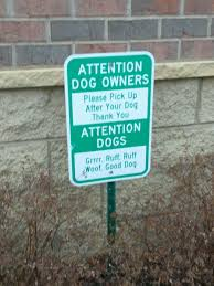Sign Memes - put me like apartment complex has a sign for both owners and dogs