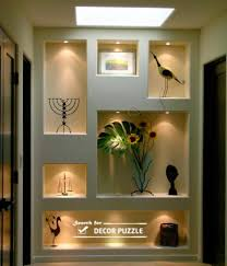 Decorative Shelves For Walls Pop Wall Designs In Hall Decorative Shelves Pop Designs Jpg 447