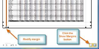 excel 2010 printing full page