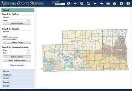 kenosha map mapping kenosha county wi official website
